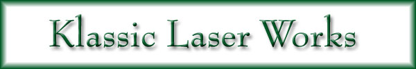 Description: Klassic Laser Works header image.